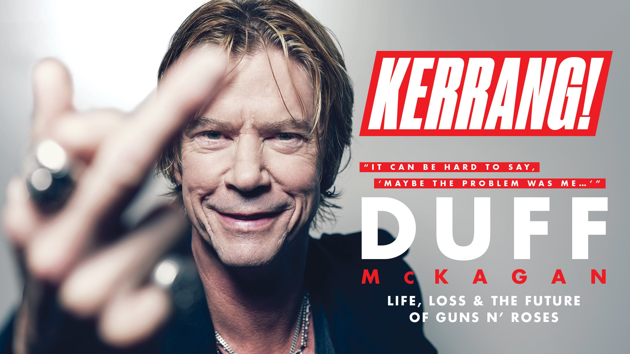 Duff McKagan: Life, Loss And The Future Of Guns N' Roses