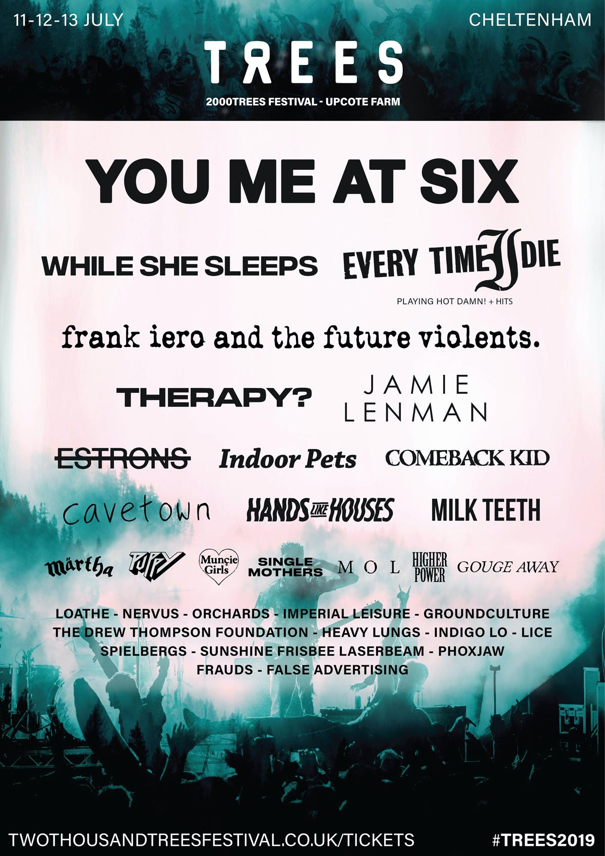 2000Trees 2019 Poster January Announcement