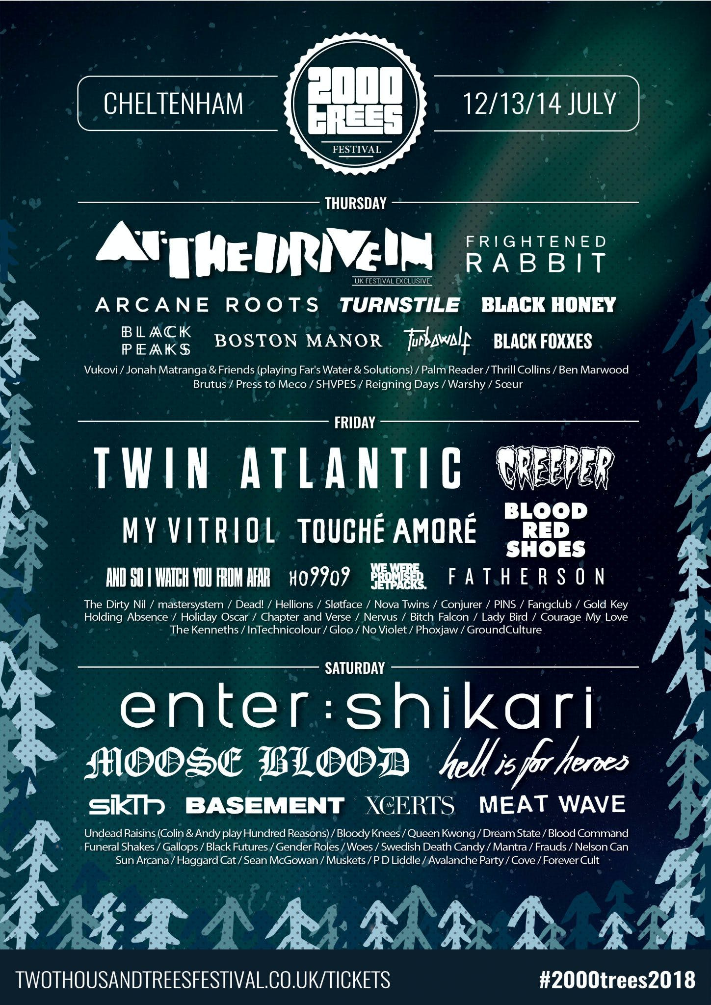 2000Trees May 2018 Announcement