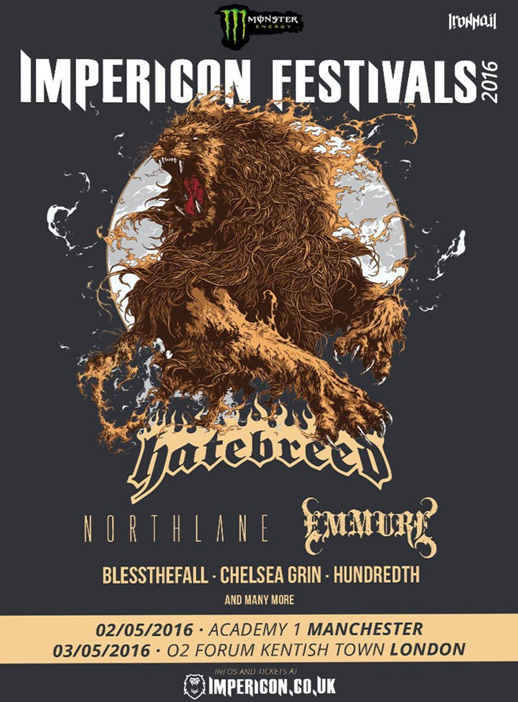 Impericon Festival Announces First Batch Of Bands