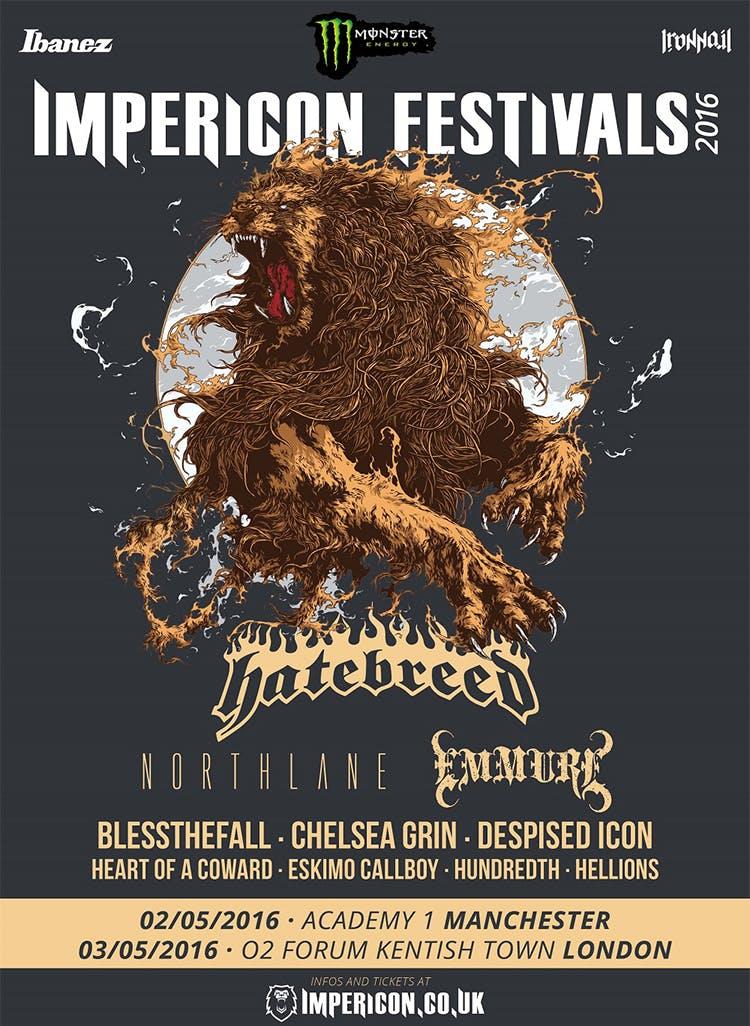 Impericon Festival 2016 Add Four More Bands