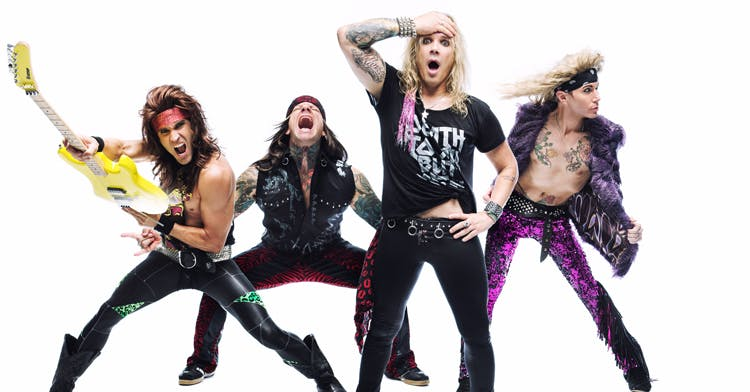 Steel Panther Announce Intimate 100 Club Show!