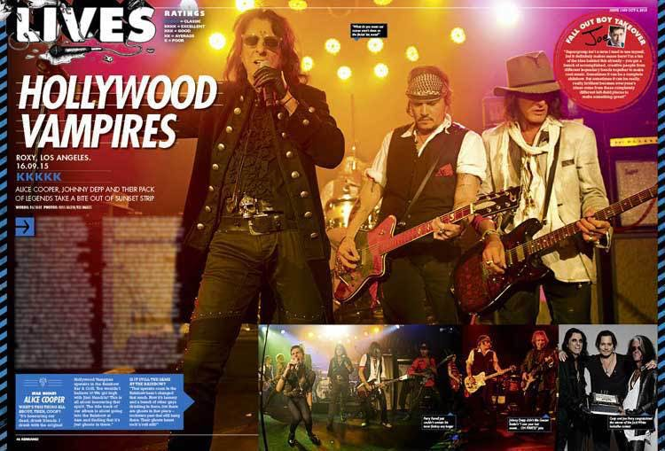 Hollywood Vampires Perform Ace Of Spades At The Grammys