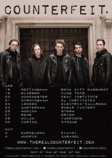 Counterfeit Reveal New Track, Enough