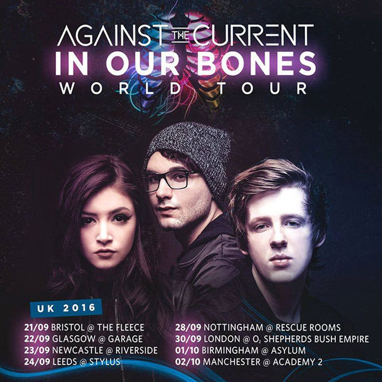 Against The Current Announce UK Tour