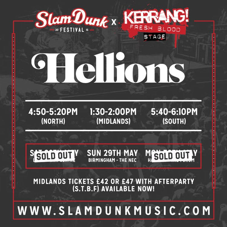 Beautiful Bodies Pull Out Of Slam Dunk Festival