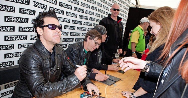 Kerrang! Signing Tent Bands + Times Confirmed!