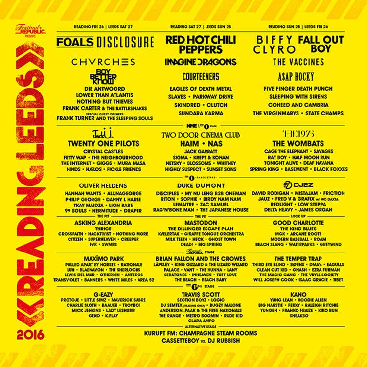 Reading And Leeds 1