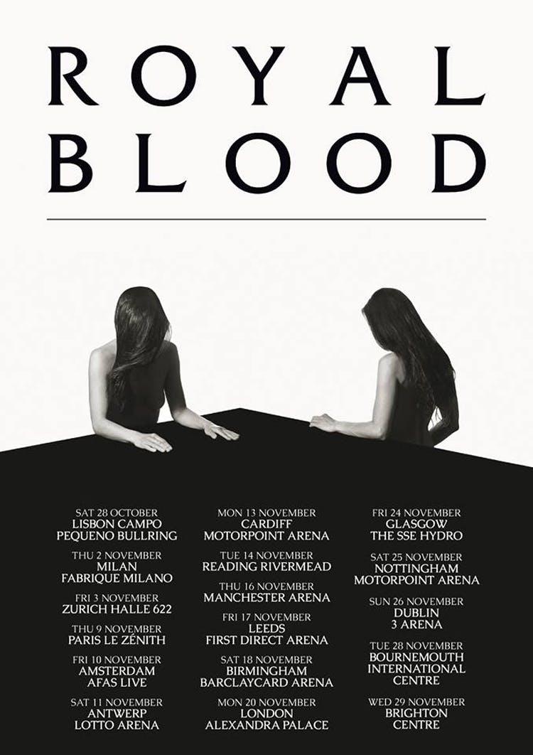Royal Blood Announce UK And European Arena Tour