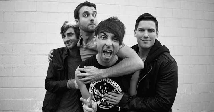 All Time Low Press 2015
