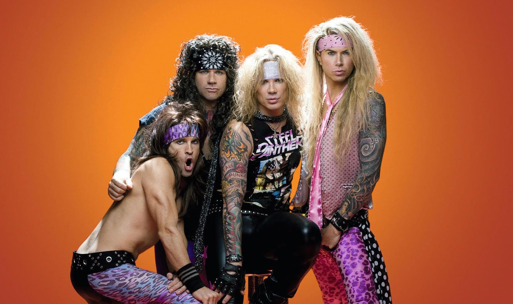 Steel Panther aren't fussed about 'pussy melter' guitar effect pedal controversy