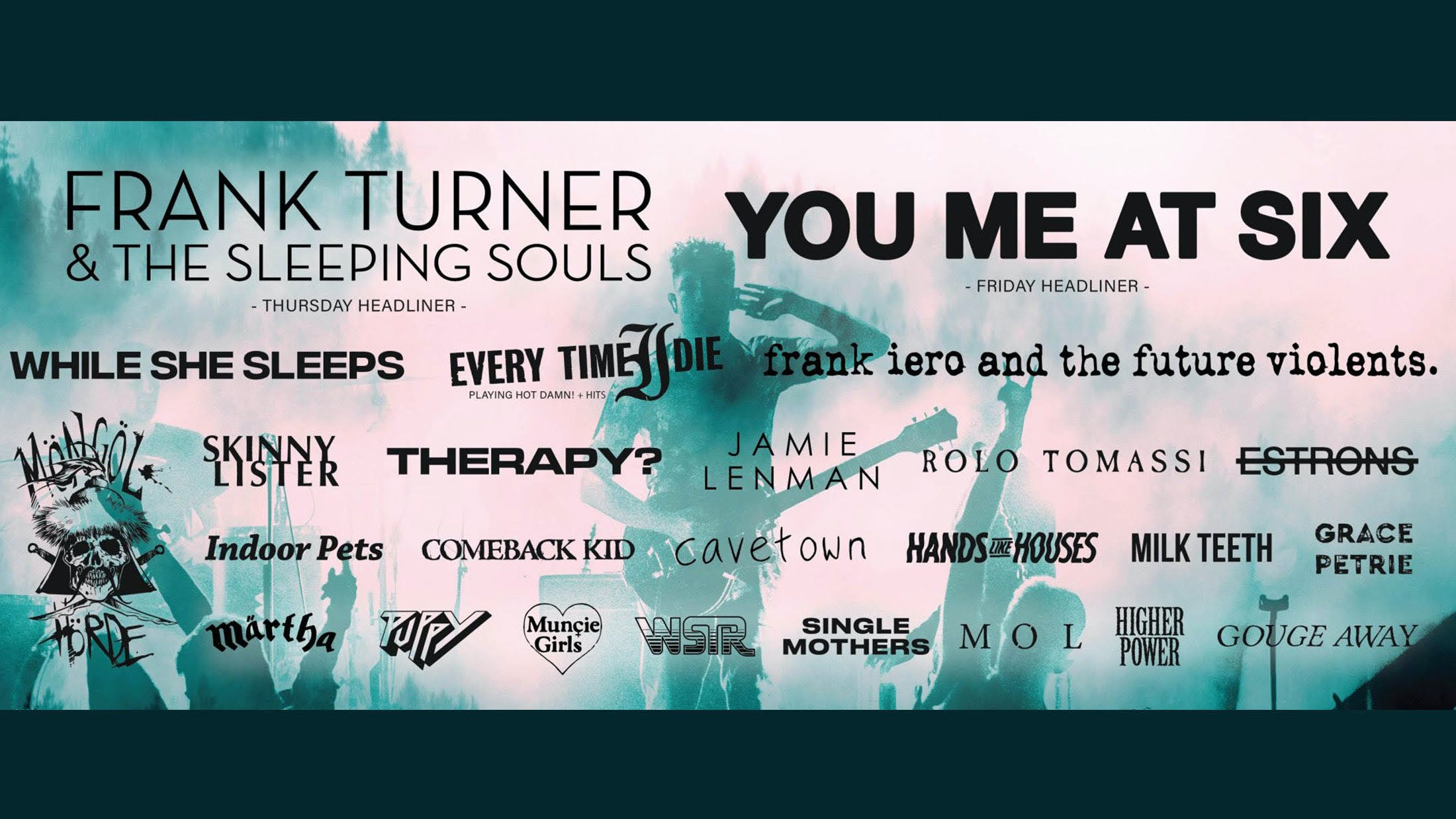 Frank Turner And More Announced For 2000trees Festival