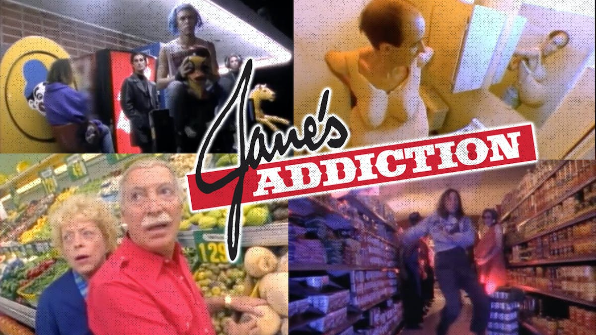 A Deep Dive Into Jane's Addiction's Video For Been Caught Stealing