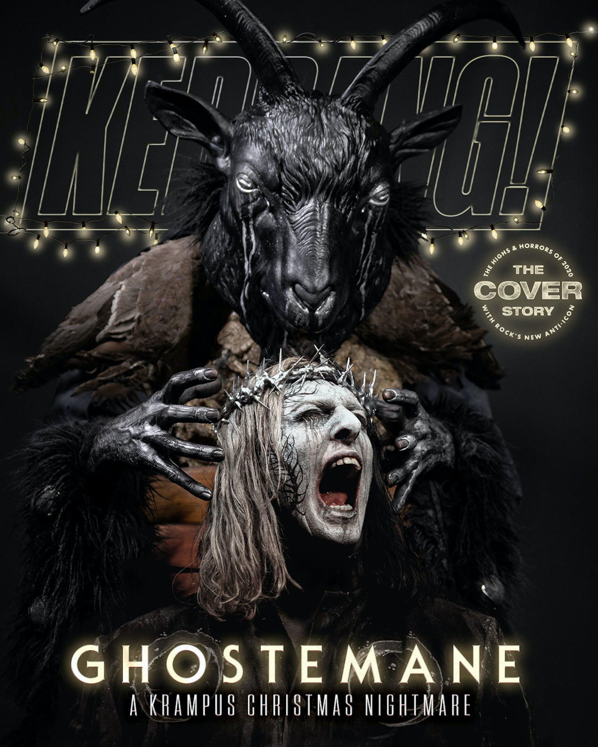 Ghostemane Kerrang Cover Christmas