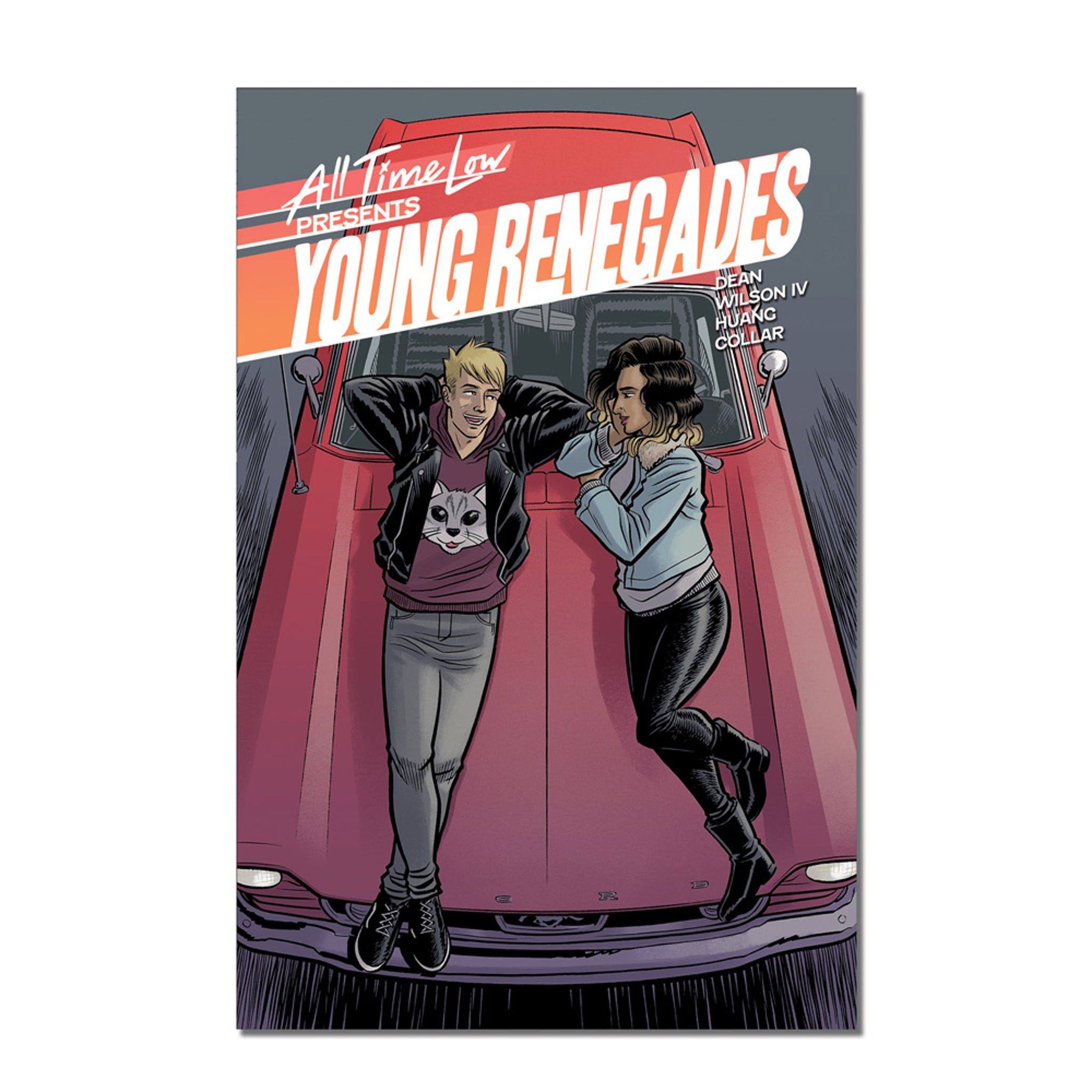 All Time Low Young Renegades graphic novel cover