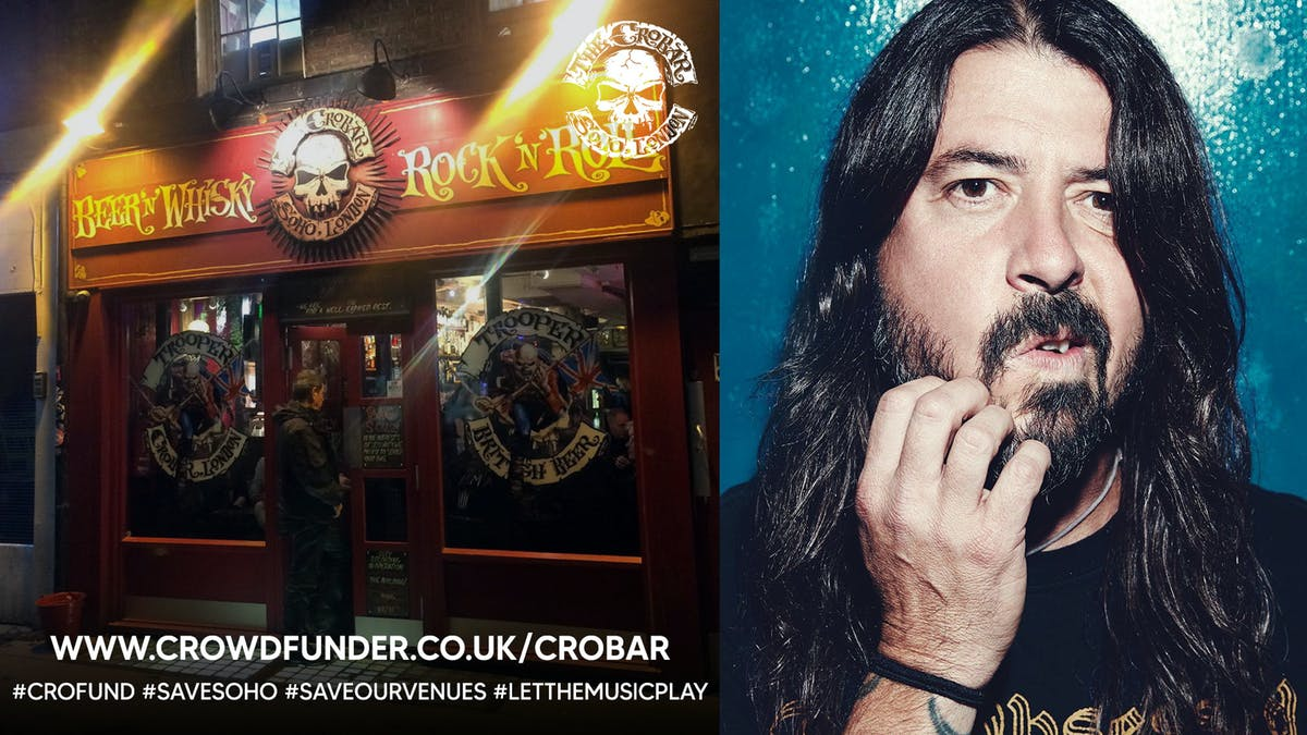 """""""The jukebox was legendary, but most of all there was a feeling of community"""": Why Dave Grohl wants to save London's legendary Crobar — Kerrang!"""