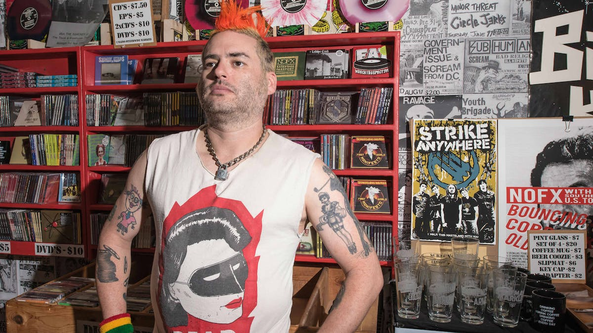 """Our country is just full of uneducated racist idiots, and that's crazy"": Fat Mike on the state of America"