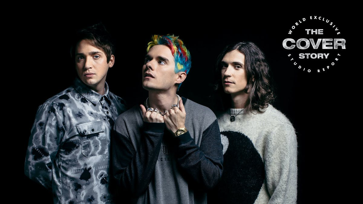"""I was having fun, but also breaking down…"" Inside the studio for Waterparks' bold new era"