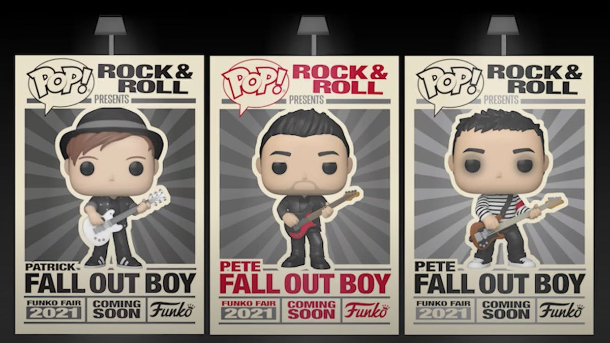 It looks like Fall Out Boy's Pete and Patrick are getting their own Funko POP! vinyl figures