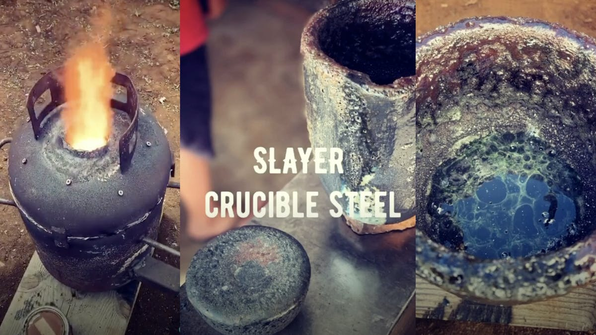 Bladesmiths create knife out of Gary Holt's guitar strings from Slayer's final tour