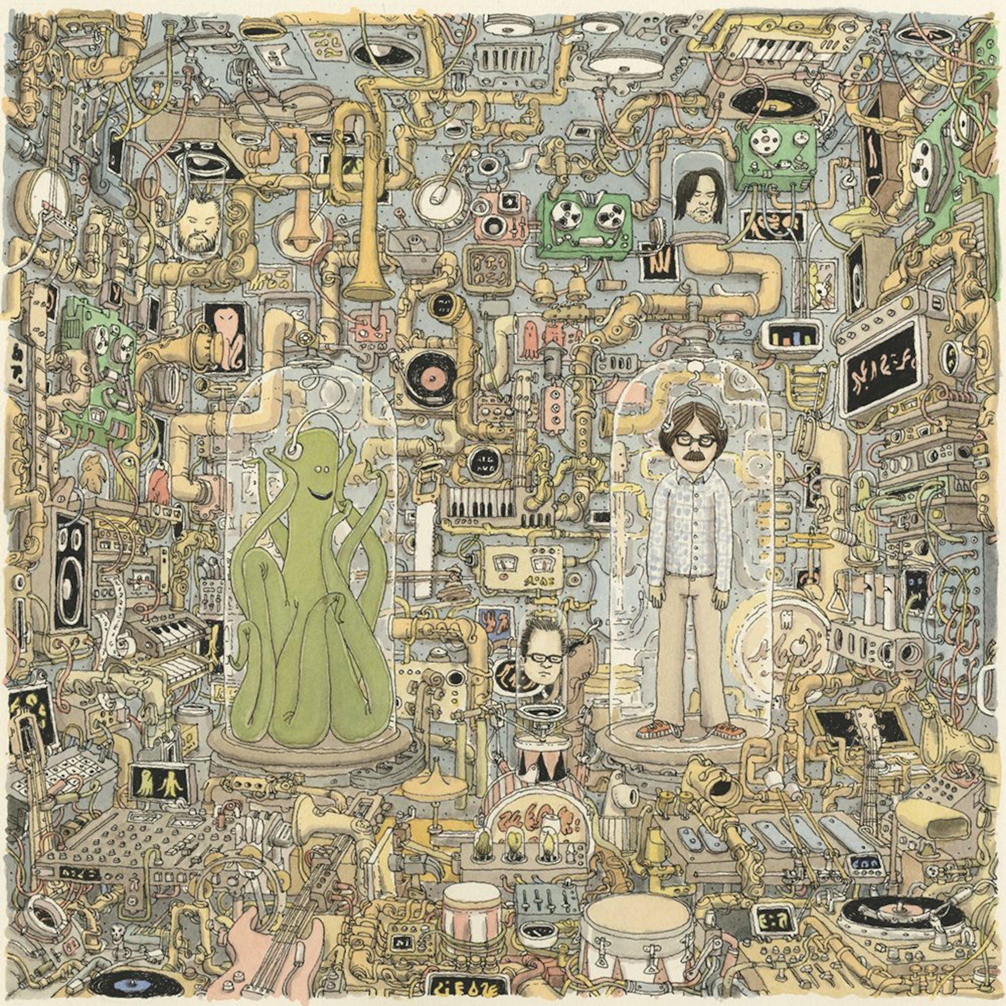 Weezer OK Human artwork