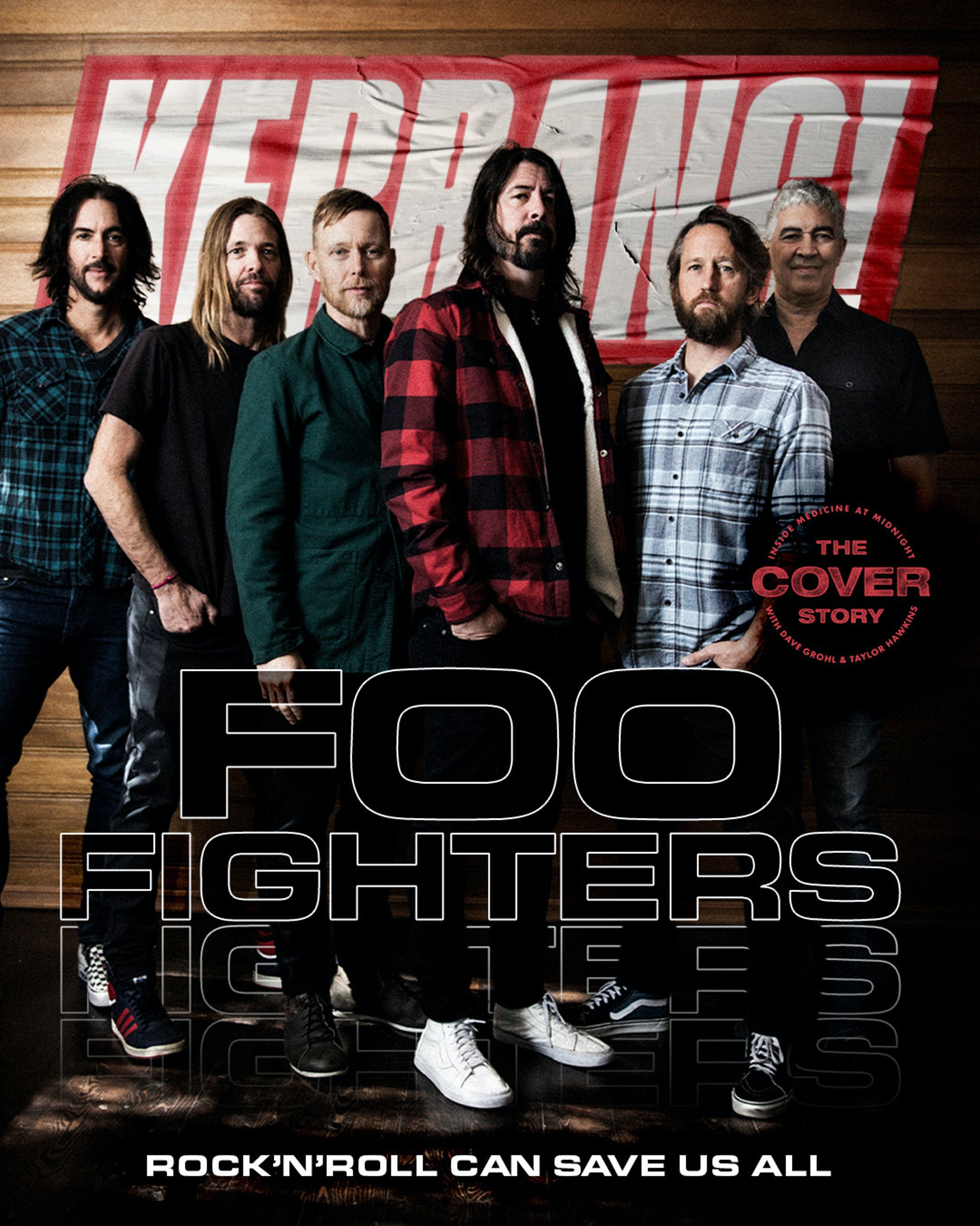 Foo Fighters Cover Story 1