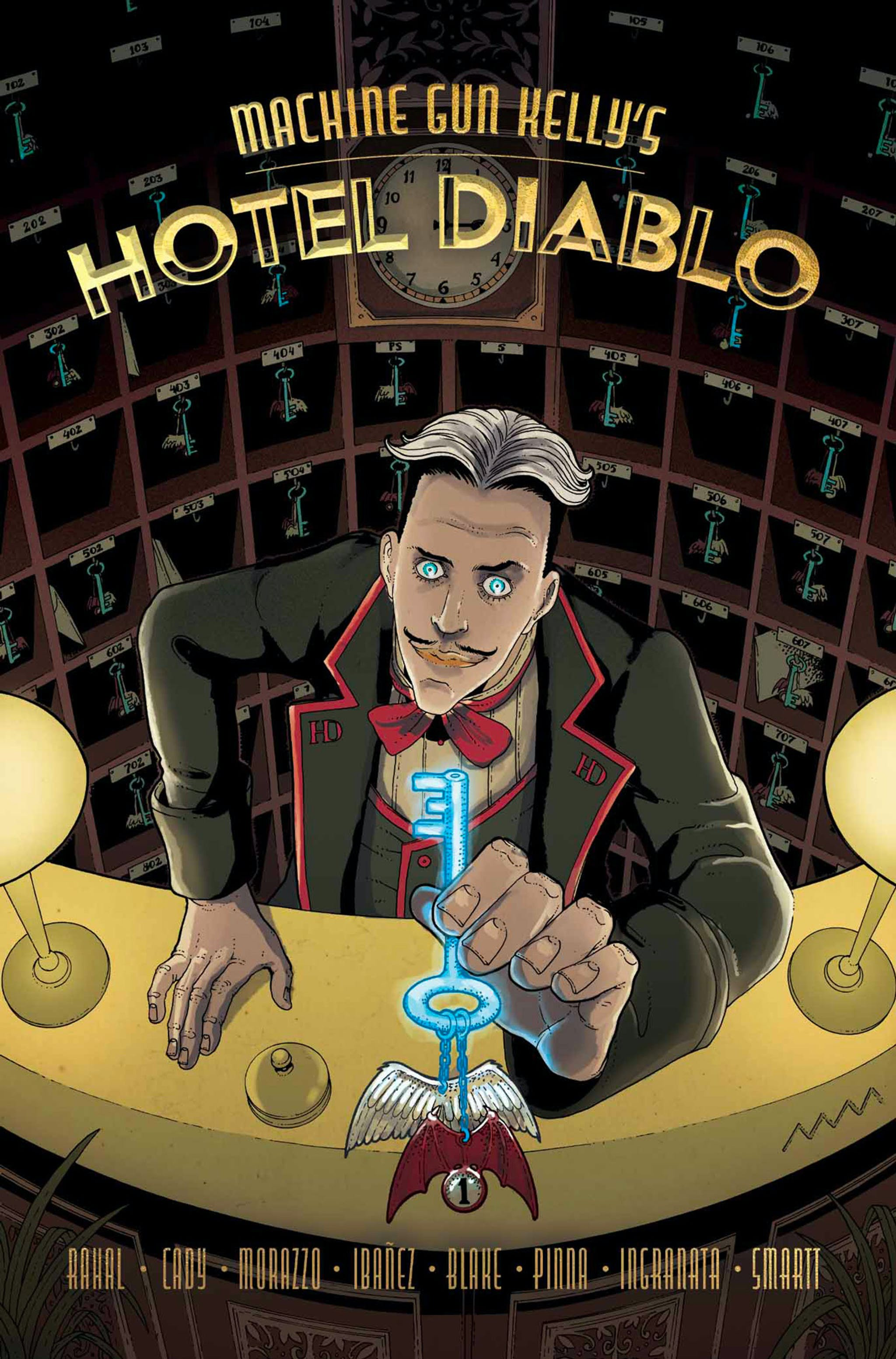 Machine Gun Kelly Hotel Diablo graphic novel cover