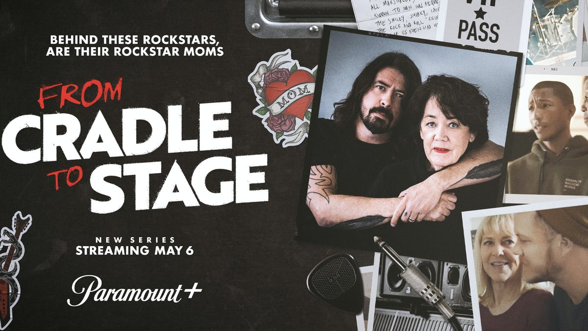 Dave Grohl announces new TV series with his mother Virginia, From Cradle To Stage — Kerrang!