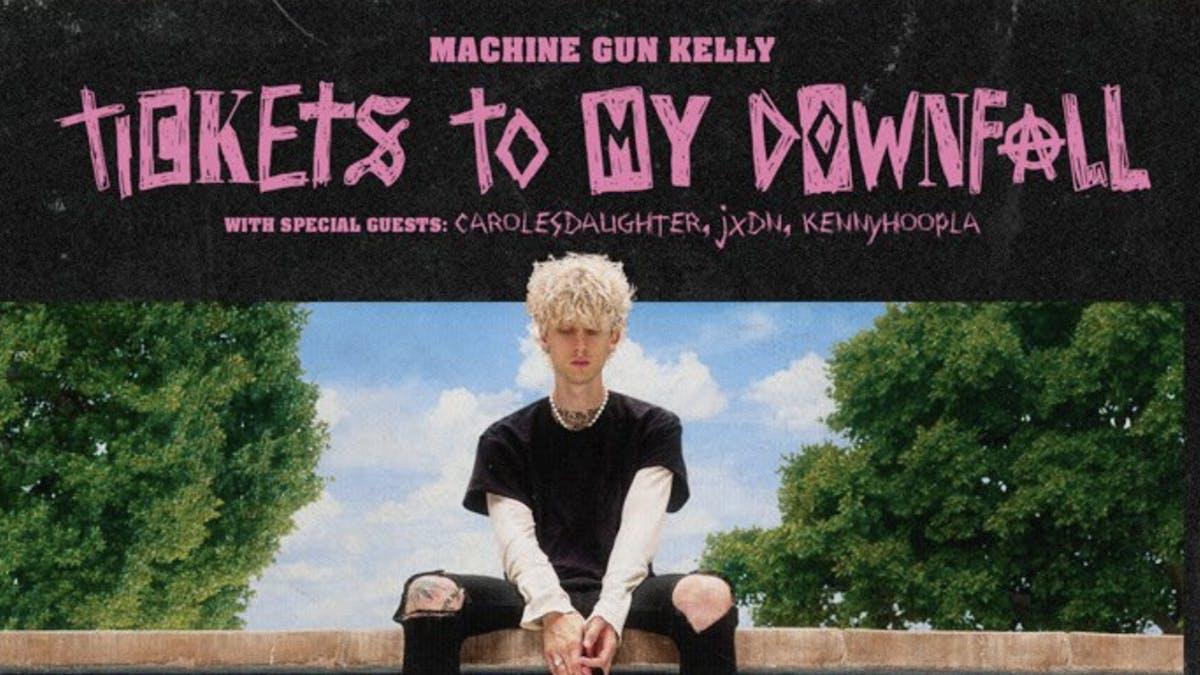 Machine Gun Kelly announces huge Tickets To My Downfall tour — Kerrang!