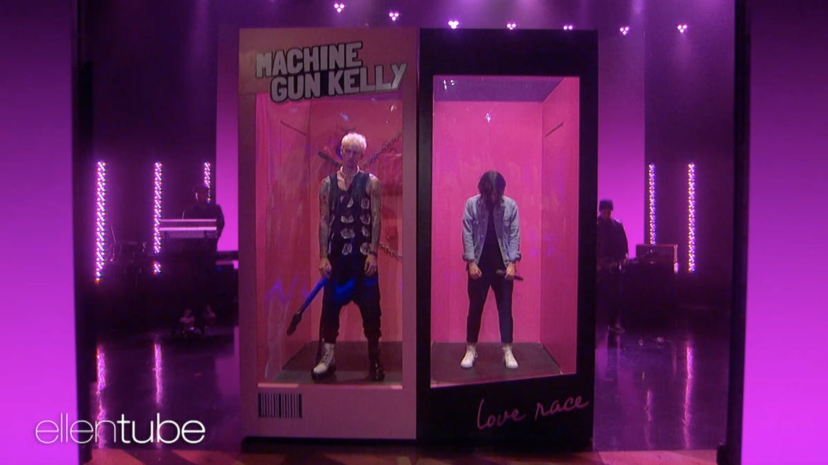 Watch Machine Gun Kelly, Kellin Quinn and Travis Barker perform their new single on The Ellen Show — Kerrang!
