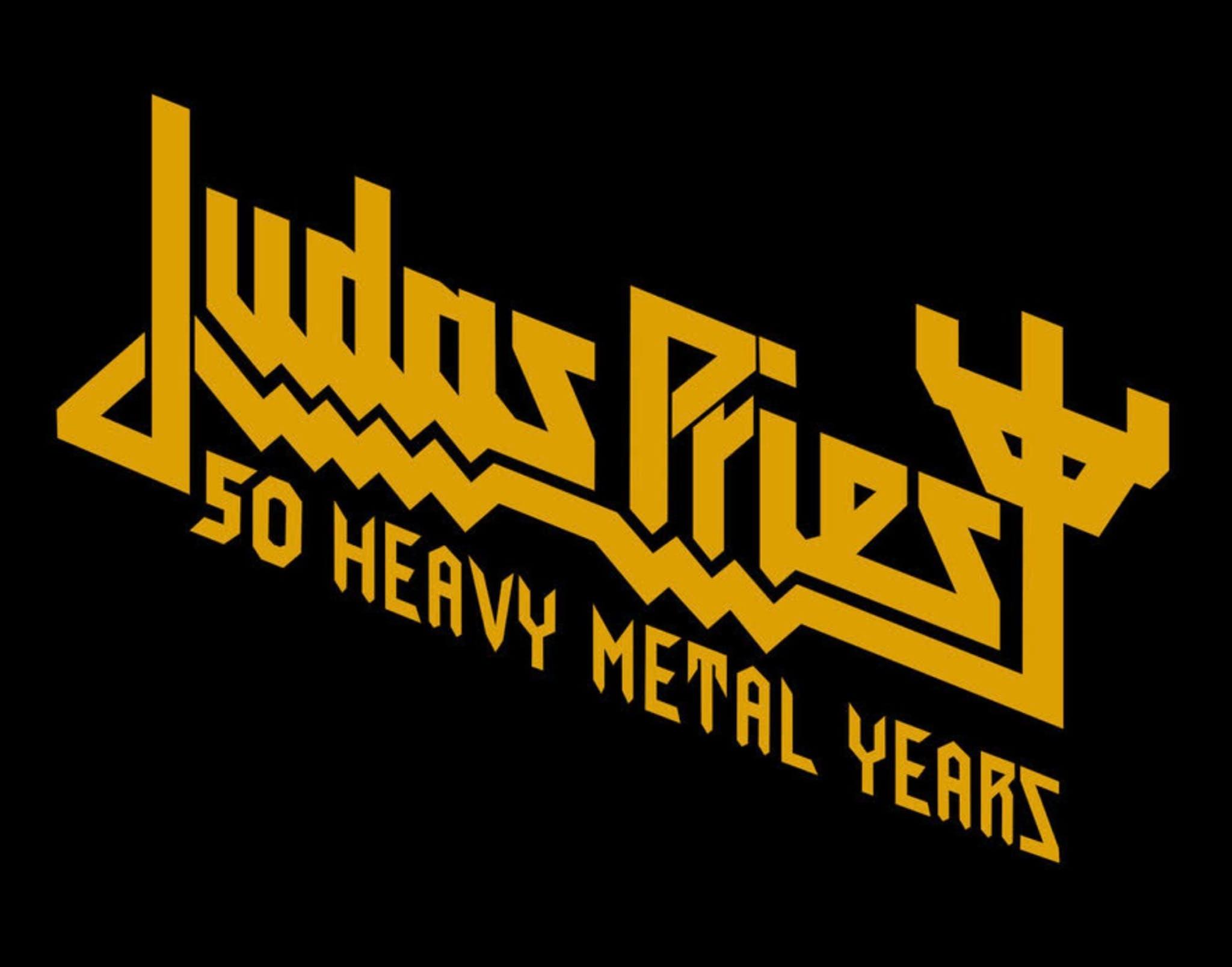 Judas Priest 50 heavy metal years poster