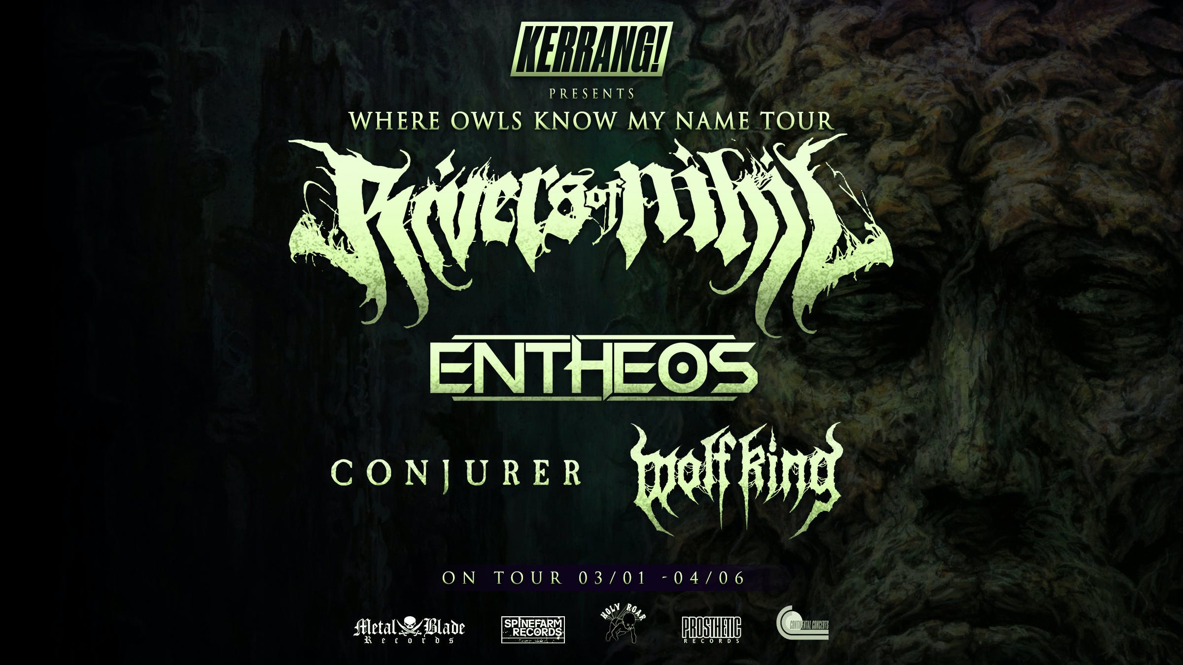 Kerrang! And Rivers Of Nihil Announce North American Tour