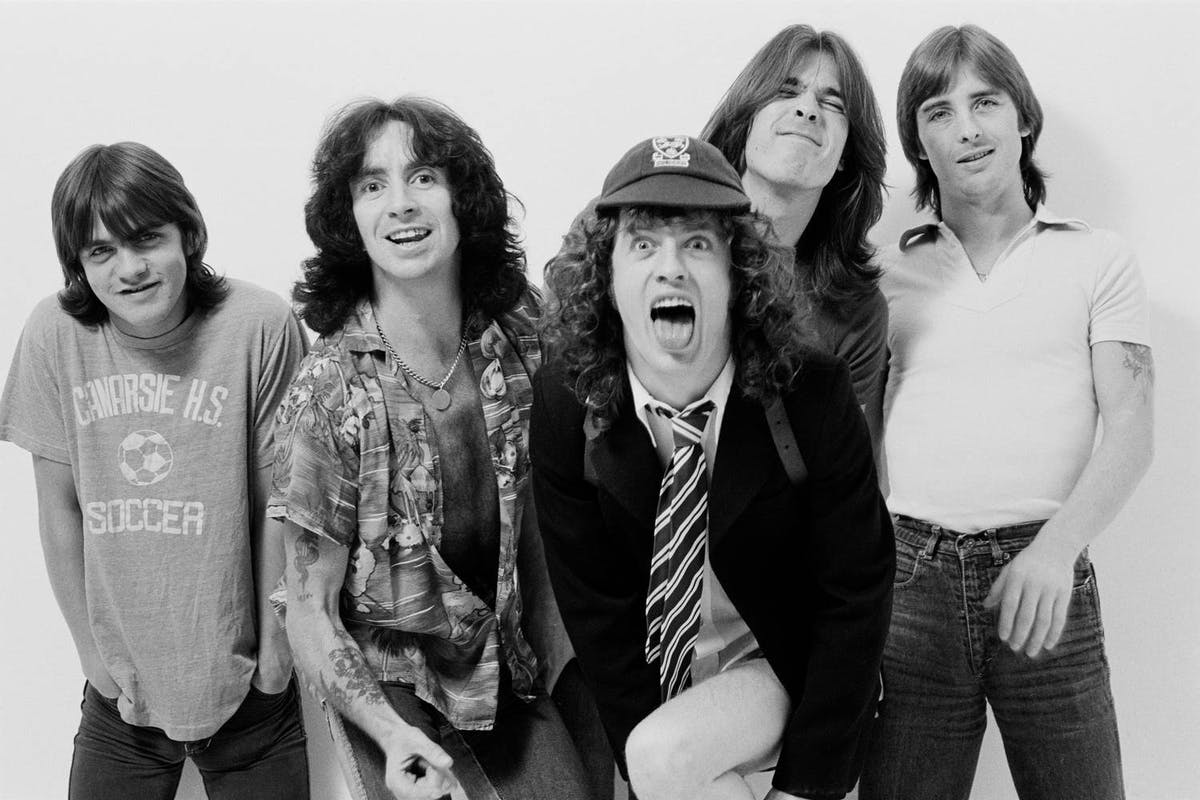 Watch This Rare Footage Of AC/DC Live On TV In 1979