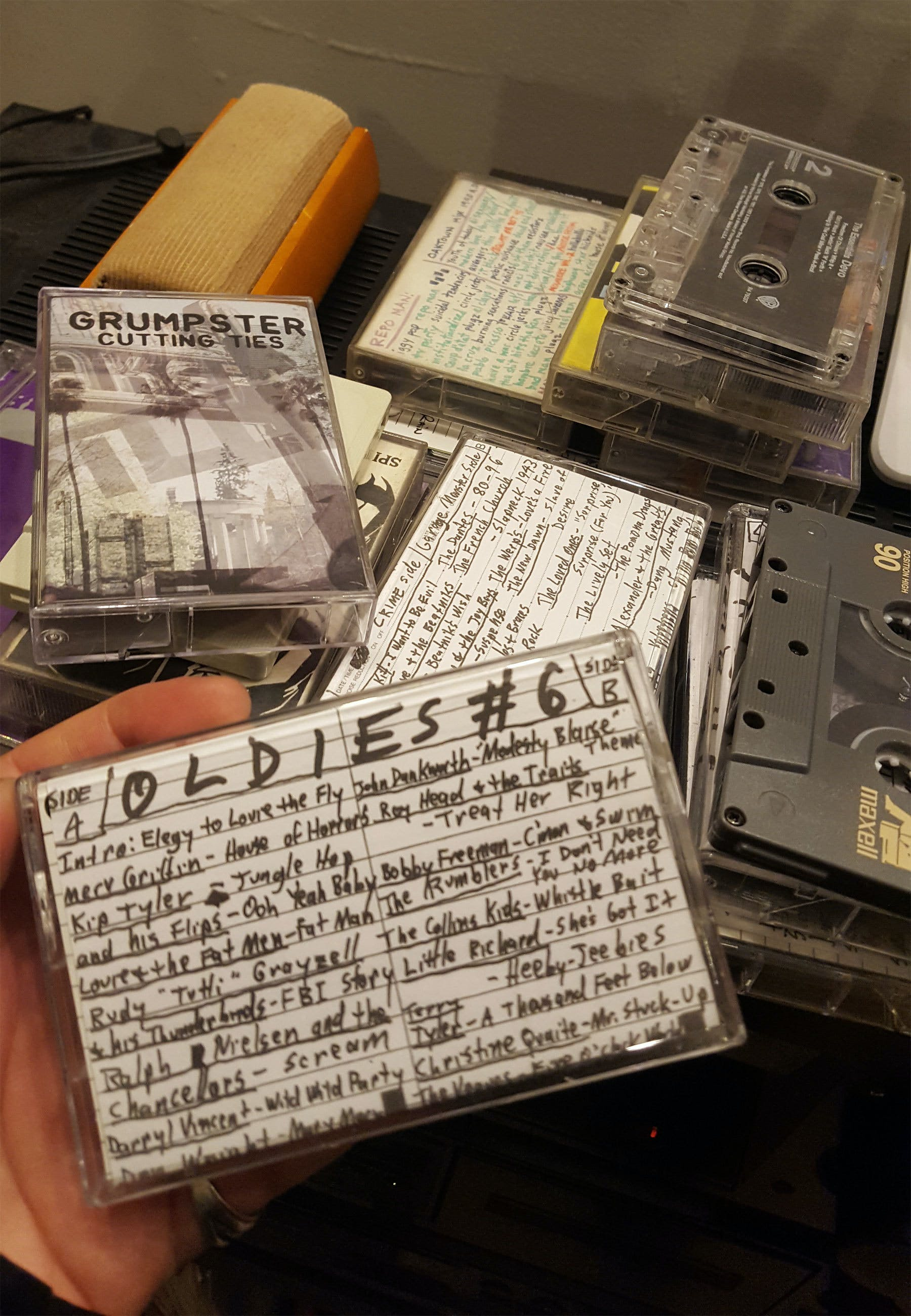 Alternative Tentacles cassette tapes
