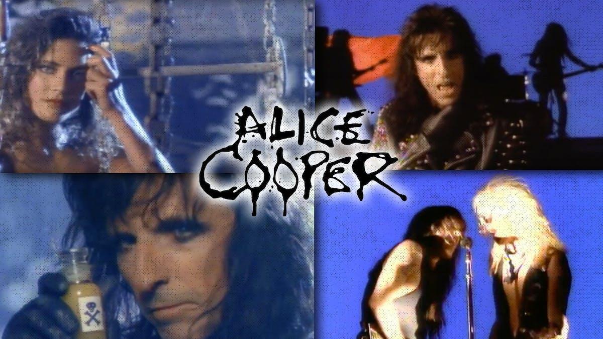 Alice Cooper Poison Guitarist