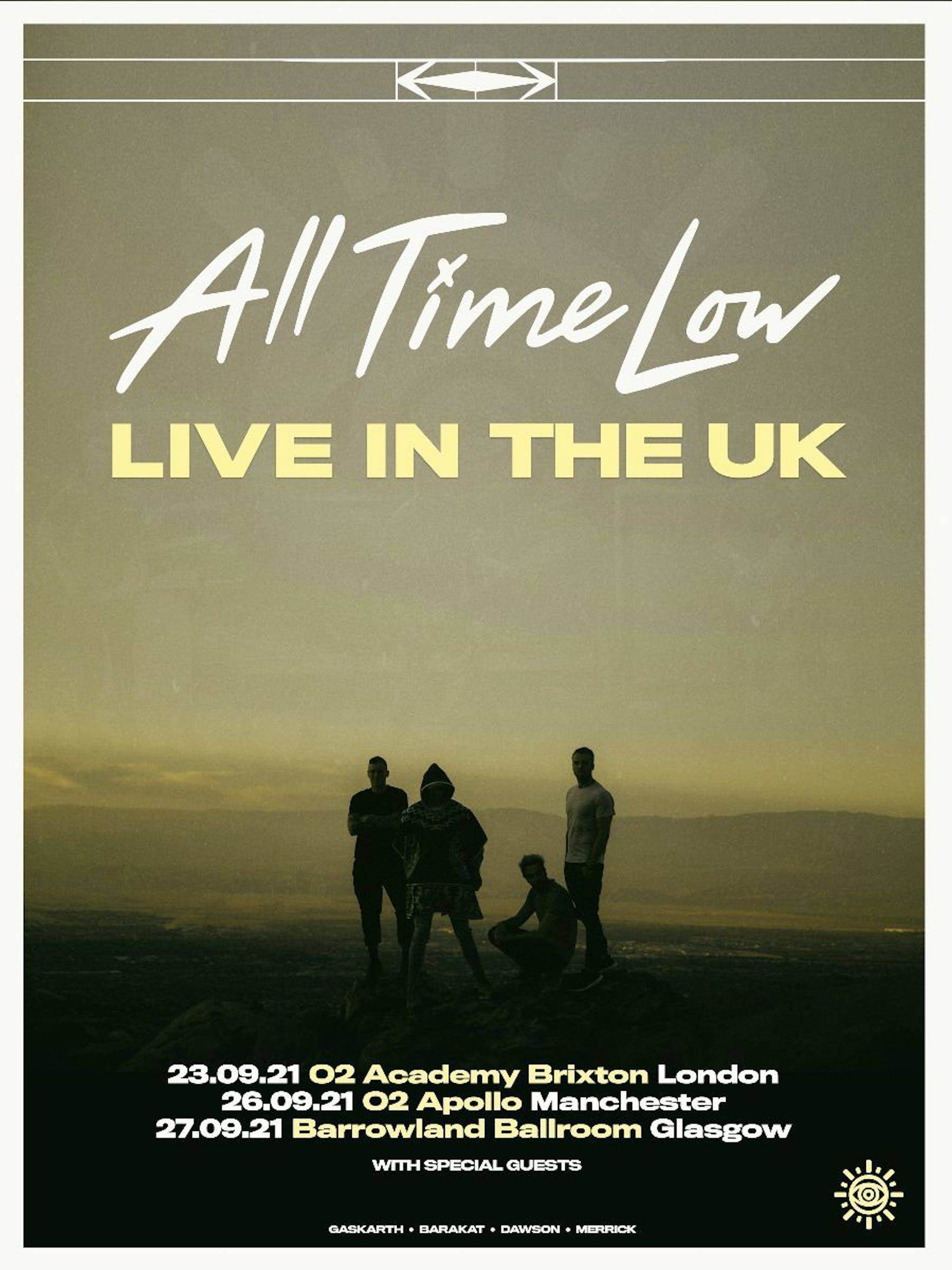 All Time Low UK Tour2021