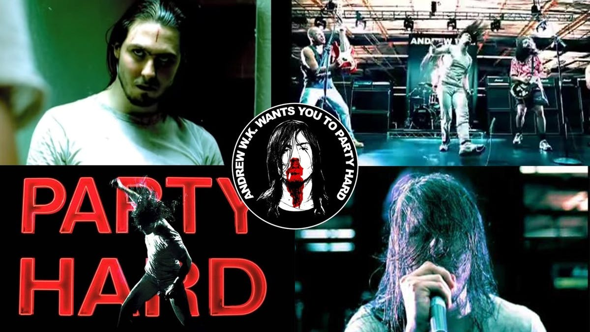A Deep Dive Into The Video For Party Hard By Andrew W.K.