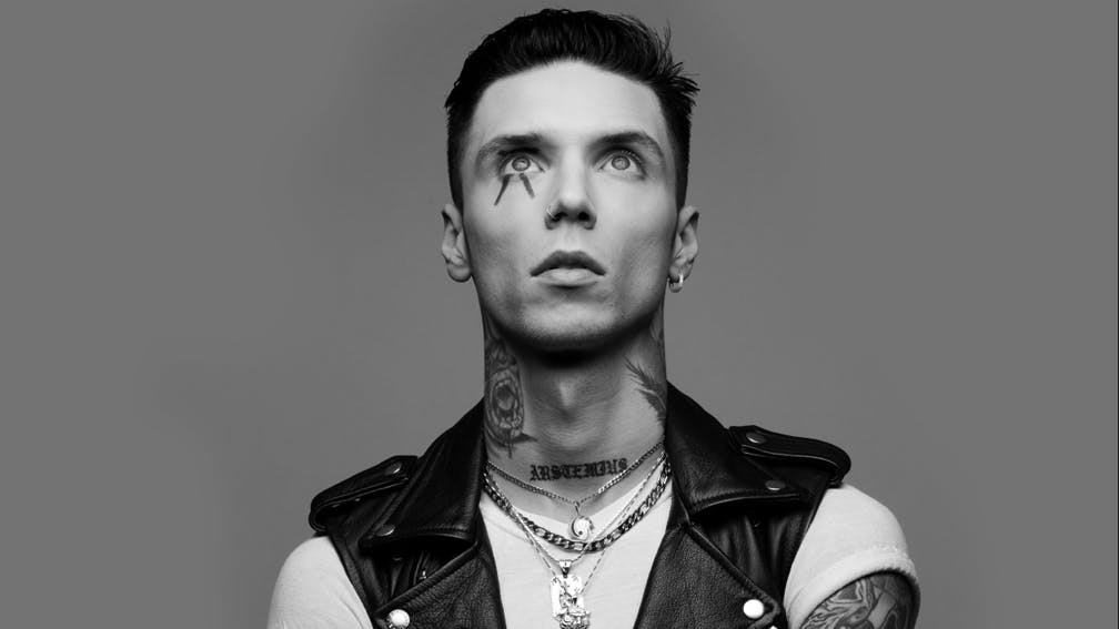 Andy Biersack Didn't Eat Vegetables Until He Was 20