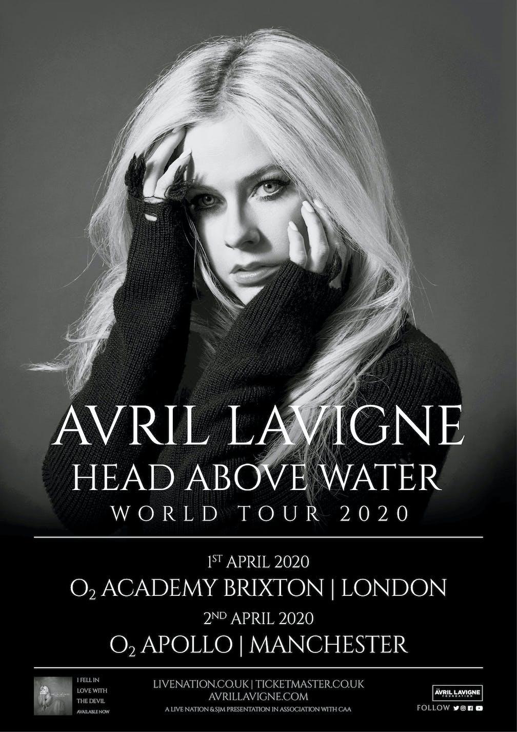 Newsboys Tour 2020.Avril Lavigne Tour 2020 Tour 2020 Infiniteradio