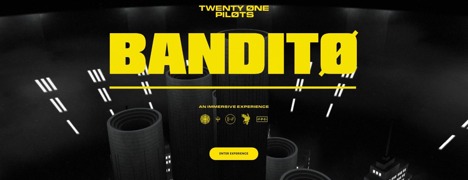Bandito Twenty One Pilots Immersive Experience