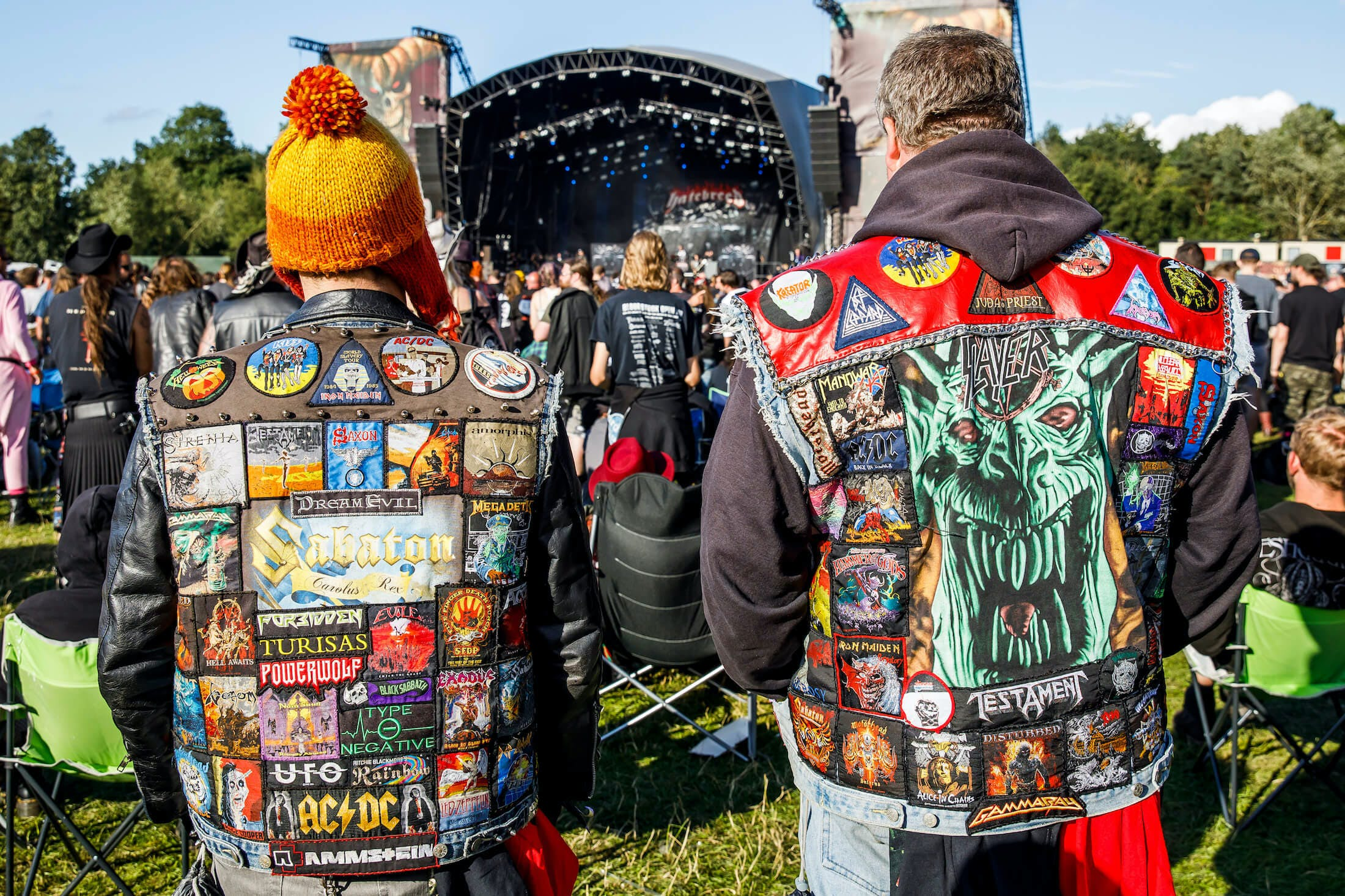 The Battlevests Of Bloodstock