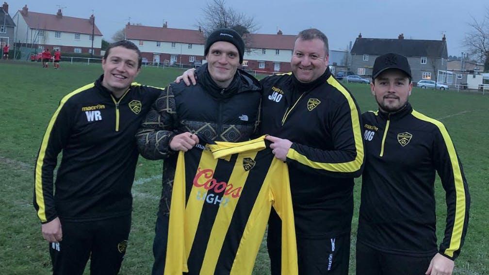 Neck Deep Frontman Ben Barlow Has Signed To A Football Team