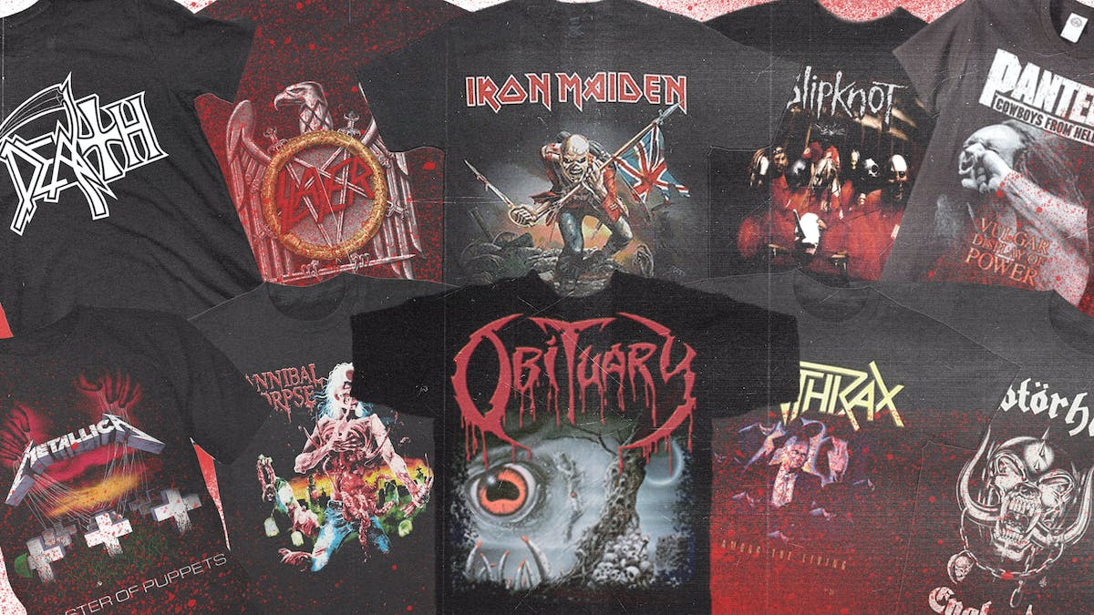 The 13 Best Heavy Metal T-Shirts Of All-Time, Ranked — Kerrang!