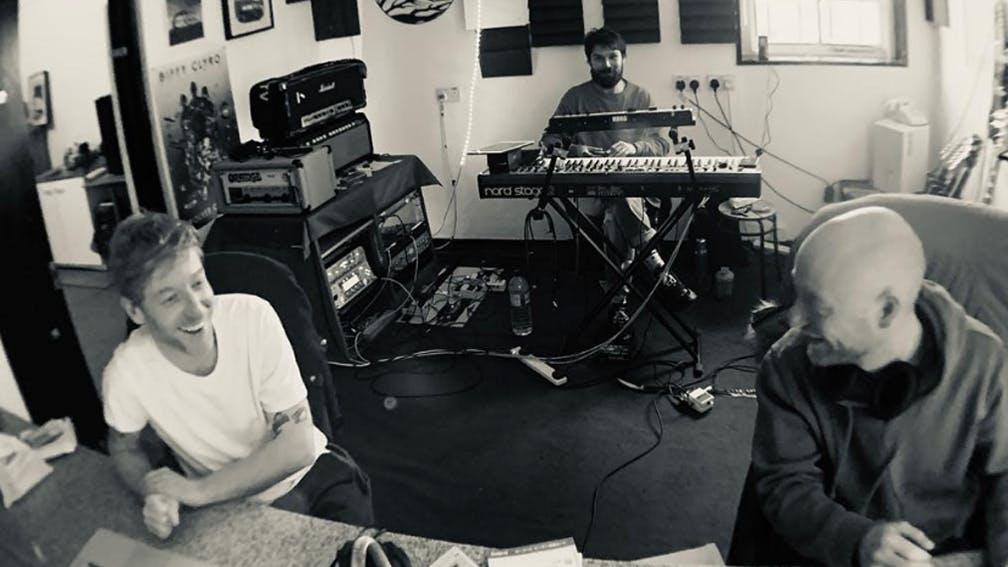 Biffy Clyro in the studio