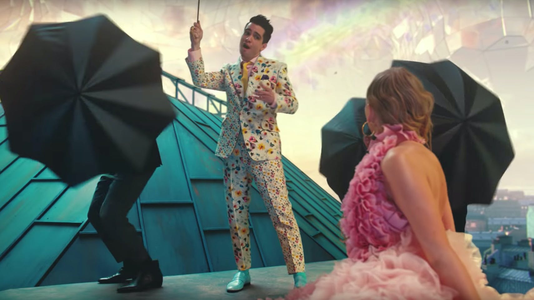 Brendon Urie Releases New Song With Taylor Swift
