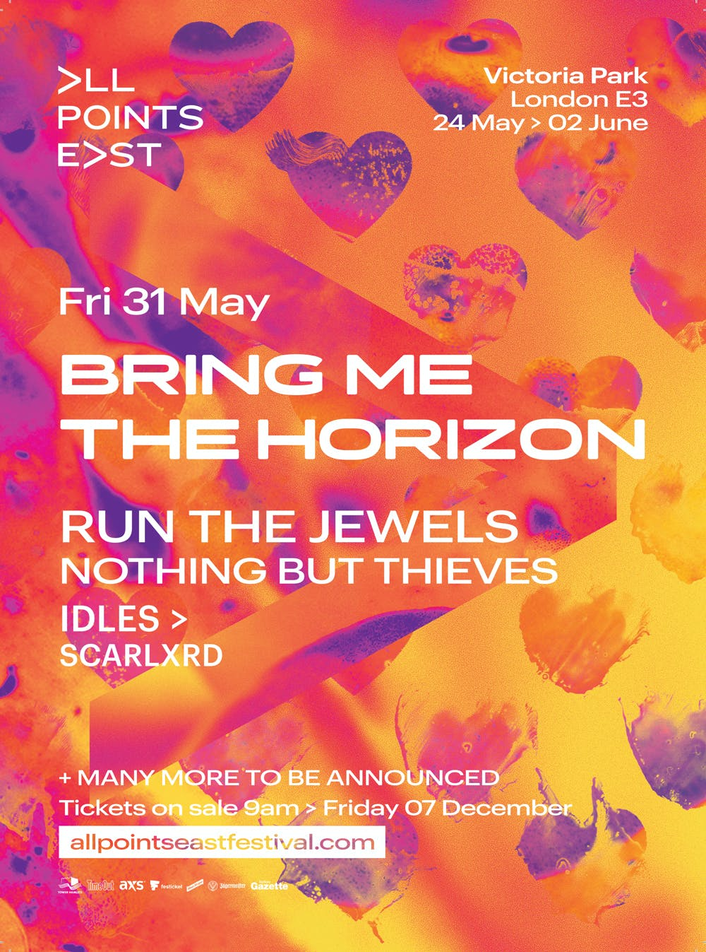 Bring Me The Horizon All Points East Poster