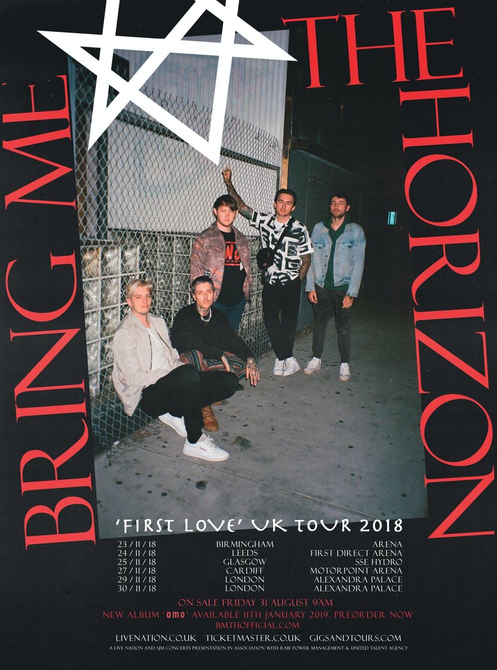 Bring Me The Horizon First Love Uk Tour