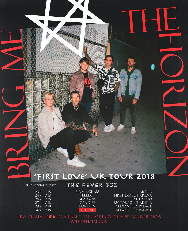 Bring Me The Horizon The Fever 333 Uk Tour 2018