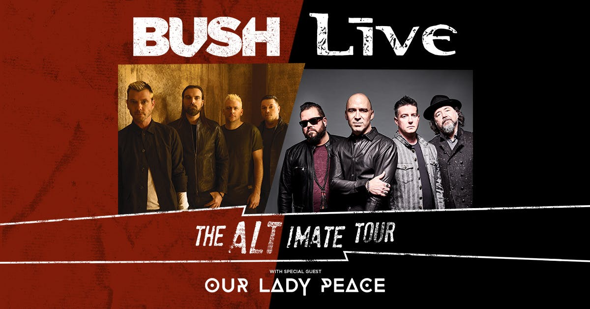 Bush and Live To Co-Headline 25th Anniversary Tour