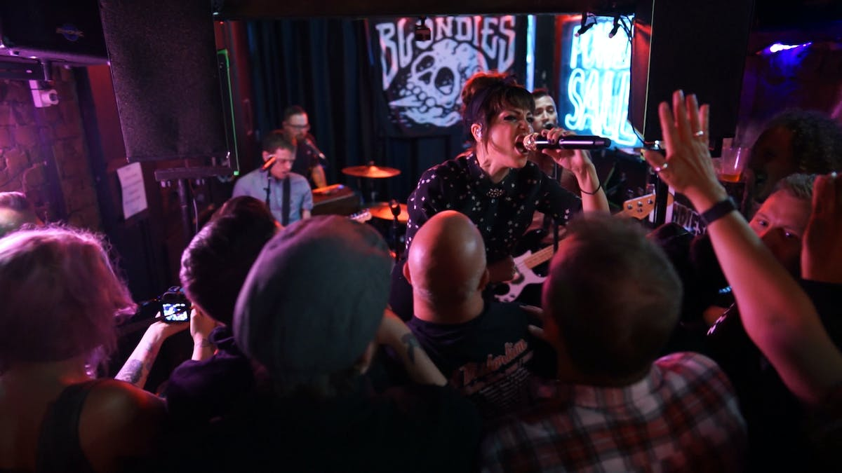 Tomorrow: Watch The Interrupters Bring The Party To A Tiny London Bar